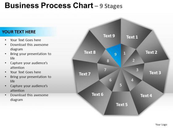 PowerPoint Themes Editable Circular Quadrant Ppt Template