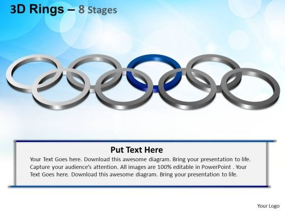 PowerPoint Themes Editable Rings Ppt Design Slides
