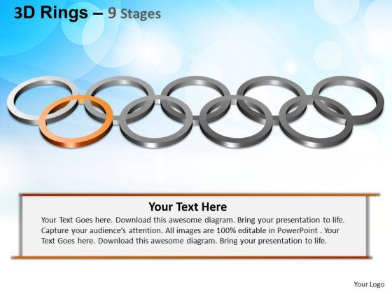 PowerPoint Themes Editable Rings Ppt Layout