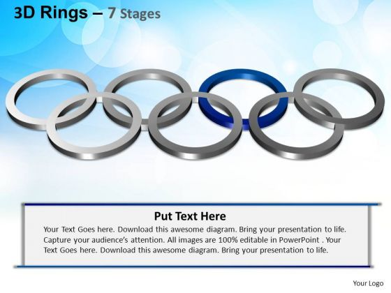 PowerPoint Themes Editable Rings Ppt Templates