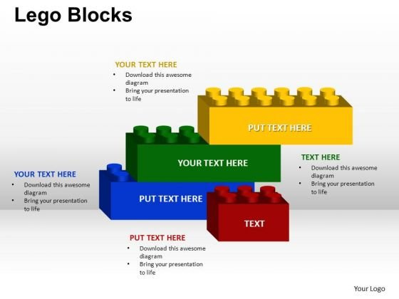 PowerPoint Themes Education Lego Ppt Themes