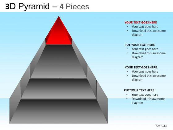 PowerPoint Themes Executive Strategy Pyramid Ppt Templates