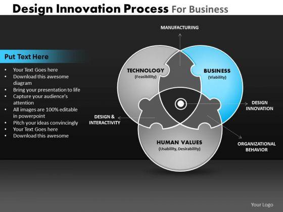 PowerPoint Themes Growth Venn Diagram Ppt Designs