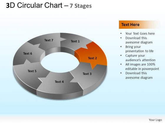 PowerPoint Themes Image Circular Chart Ppt Template