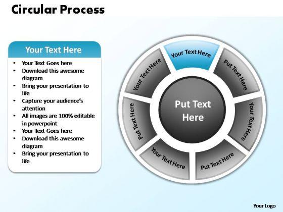 PowerPoint Themes Marketing Circular Process Ppt Designs