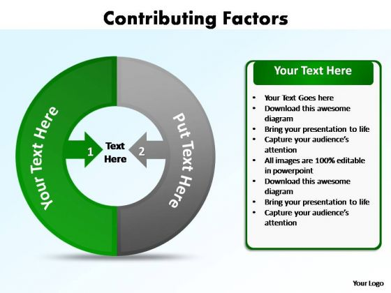 PowerPoint Themes Marketing Factors Ppt Slides