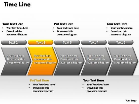 PowerPoint Themes Marketing Flow Process Ppt Templates
