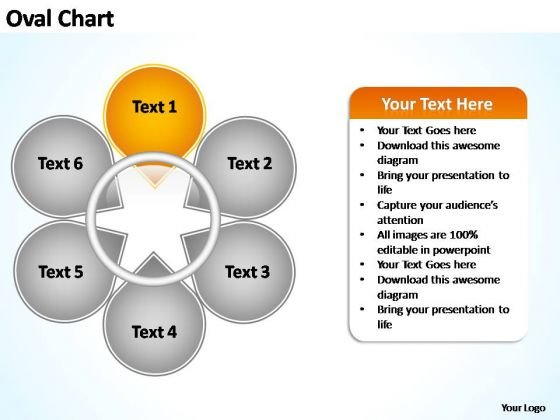 PowerPoint Themes Marketing Oval Ppt Themes