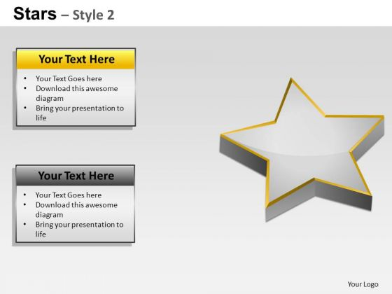 PowerPoint Themes Marketing Stars Ppt Templates