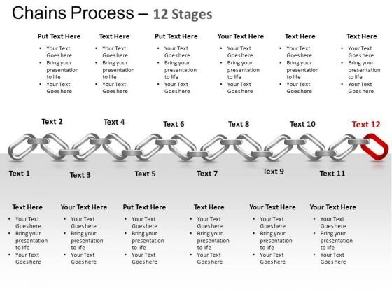 PowerPoint Themes Process Chains Ppt Theme