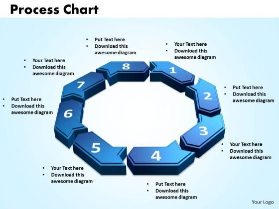 PowerPoint Themes Process Chart Graphic Ppt Template