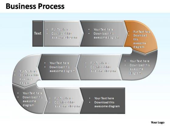 PowerPoint Themes Process Complex Business Process Ppt Design