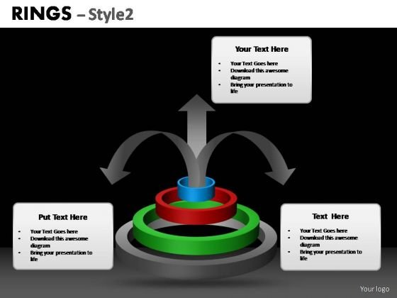 PowerPoint Themes Process Ring Chart Ppt Design Slides
