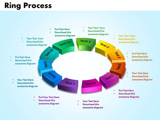 PowerPoint Themes Ring Process Growth Ppt Designs