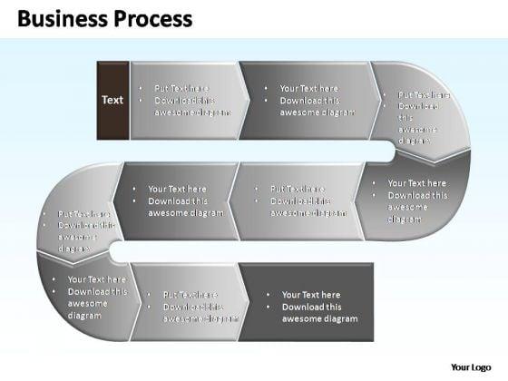 PowerPoint Themes Sale Complex Business Process Ppt Slide