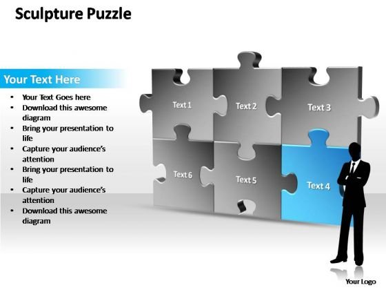 PowerPoint Themes Sale Sculpture Puzzle Ppt Templates