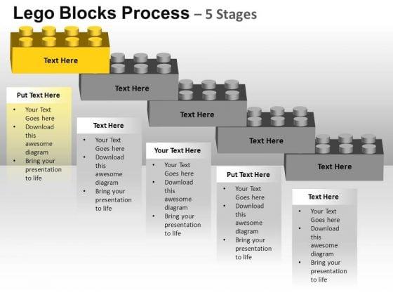 PowerPoint Themes Sales Lego Blocks Ppt Templates