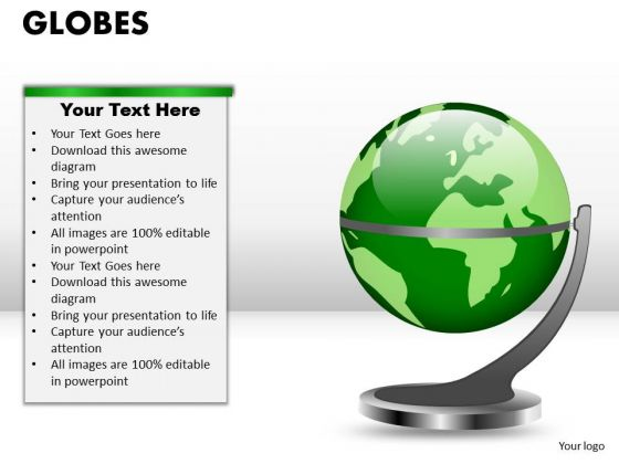 PowerPoint Themes Strategy Globes Ppt Designs