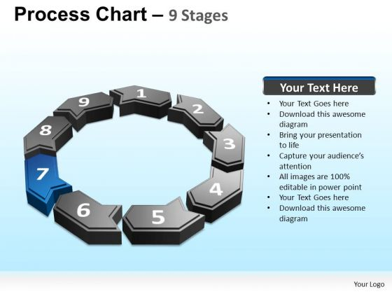 PowerPoint Themes Strategy Process Chart Ppt Presentation