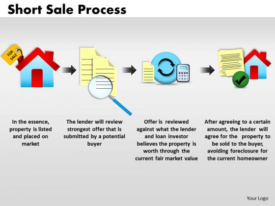 PowerPoint Themes Strategy Short Sale Ppt Designs