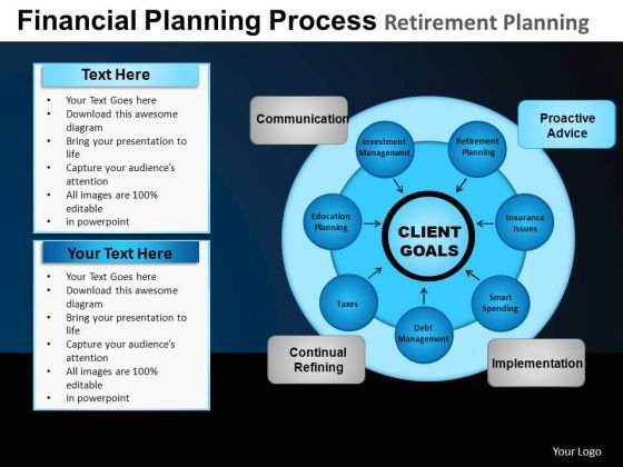 PowerPoint Themes Success Financial Planning Ppt Slides