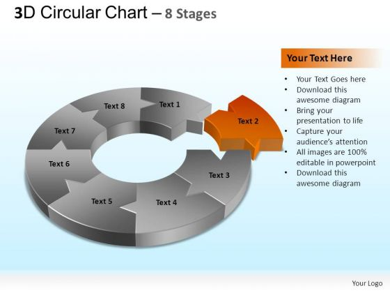 PowerPoint Themes Teamwork Circular Chart Ppt Designs