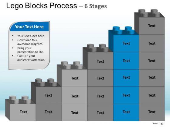PowerPoint Themes Teamwork Lego Blocks Ppt Theme