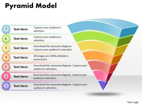Ppt 10 000 Pyramid PowerPoint Template Motivational Needs Model Templates