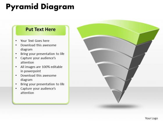 Ppt 10 000 Pyramid PowerPoint Template Picture Design Templates 2010