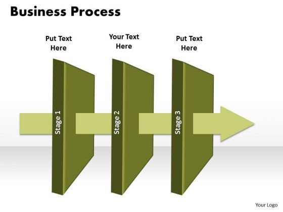 Ppt 3 Phase Diagram Business Presentation Free Download Linear Process PowerPoint Templates