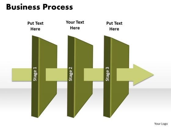 Ppt 3 State Diagram Business PowerPoint Presentation Linear Process Templates