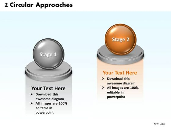Ppt 3d Animated 2 PowerPoint Presentation Circular Corresponding Approaches Templates