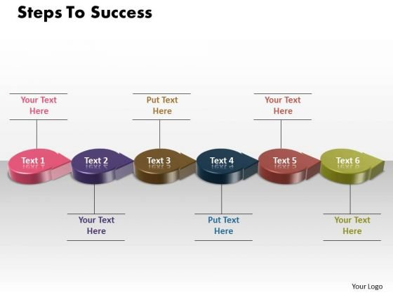 Ppt 3d Circle Arrow Scientific Method Steps PowerPoint Presentation To Success Templates