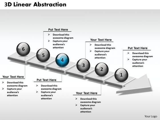 Ppt 3d Continuous Abstraction Of Business Steps 6 Stages PowerPoint Templates