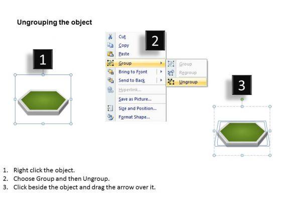 ppt 3d linear business powerpoint presentation process flow charts