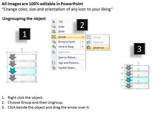 ppt_4_step_table_swim_lane_diagram_powerpoint_template_editable_templates_2