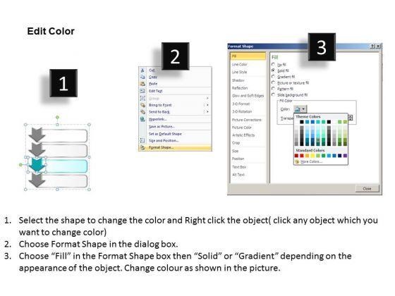 ppt_4_step_table_swim_lane_diagram_powerpoint_template_editable_templates_3