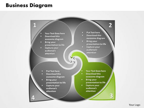 Ppt 4 Steps In Planning Process Business Diagram PowerPoint Templates