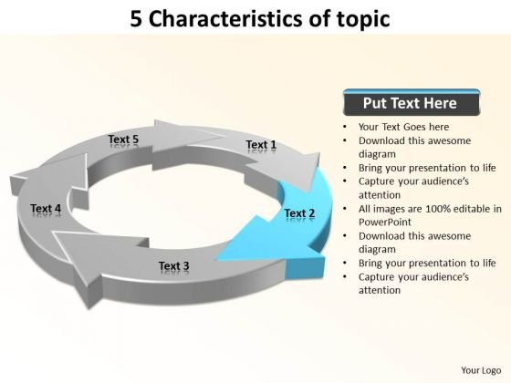 Ppt 5 Characteristics Of Matter PowerPoint Templates Free Download