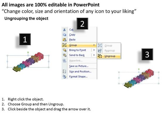 ppt_6_jigsaw_autoshape_puzzle_powerpoint_template_free_steps_templates_2