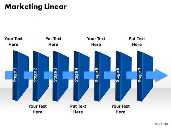 Ppt 7 Stages Mobile Social Presentation Linear Process PowerPoint Templates