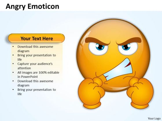 Angry PowerPoint templates Slides and Graphics – Communication Skills Ppt