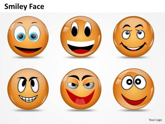 Ppt Animated Smiley Face Express Great Emotion Growth PowerPoint Templates