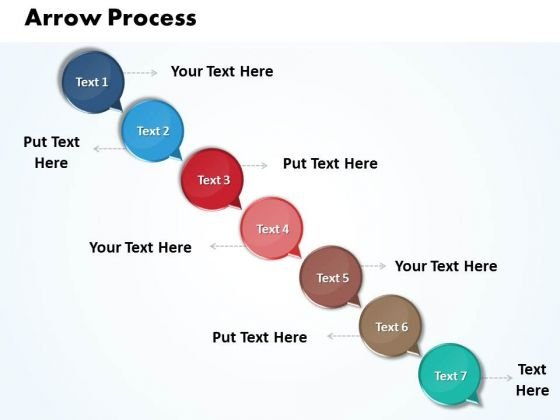 Ppt Arrow 7 Power Point Stage PowerPoint Templates