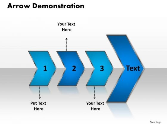 Ppt Arrow Demonstration Of 3 Practice The PowerPoint Macro Steps Templates