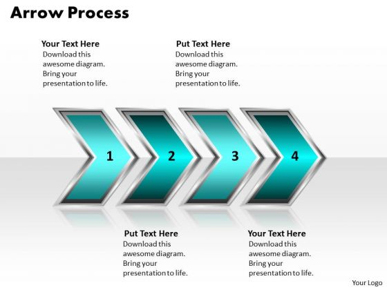 Ppt Arrow Diamond Mining Process PowerPoint Presentation 4 Stages Style 2 Templates