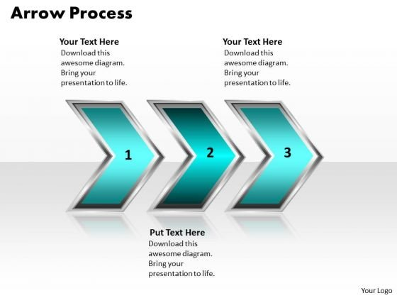 Ppt Arrow Forging Process PowerPoint Slides 3 Phase Diagram Style 2 Templates
