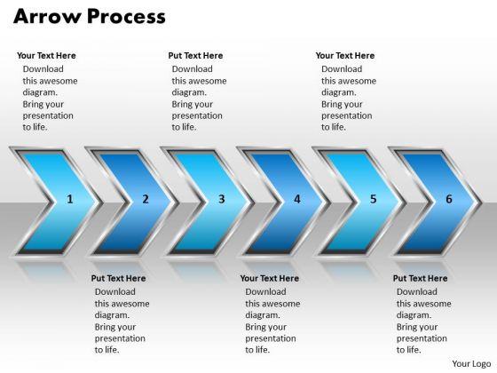 Ppt Arrow Procurement Process PowerPoint Presentation 6 Stages Style 2 Templates