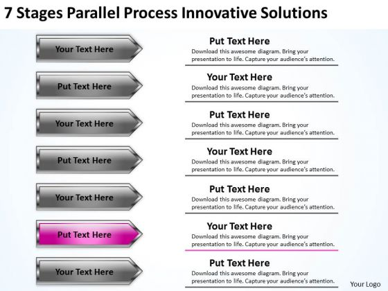 ppt arrows process innovative solutions 6 powerpoint templates