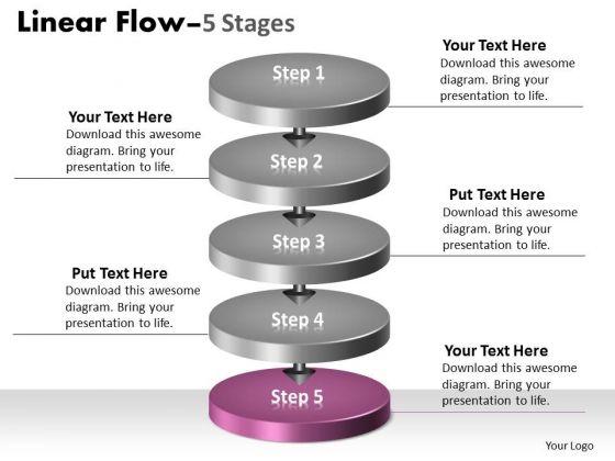 Ppt Background 3d Illustration Of 5 Phase Diagram Partnership Transaction 6 Image
